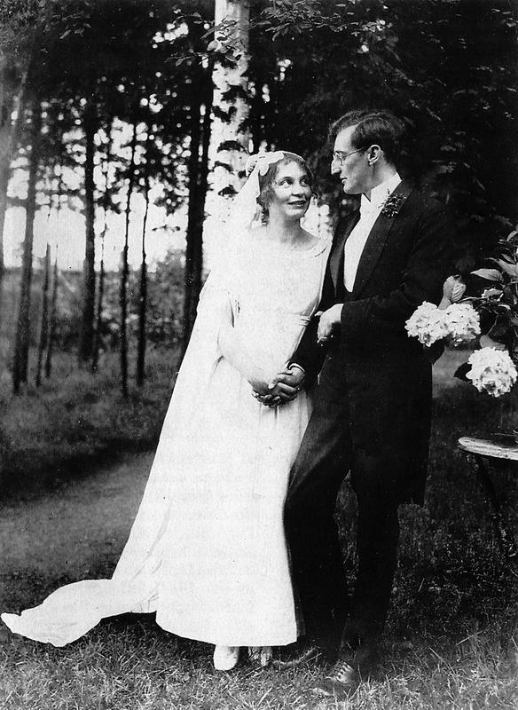 Friedi Heimeran, Ernst Penzoldt Hochzeit 26.08.1922