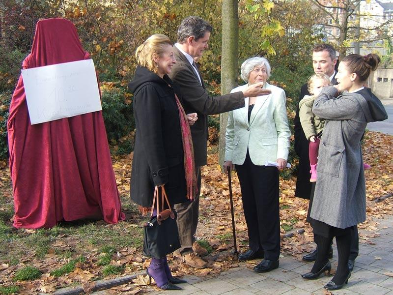 Ernst Penzoldt Denkmal, Erlangen